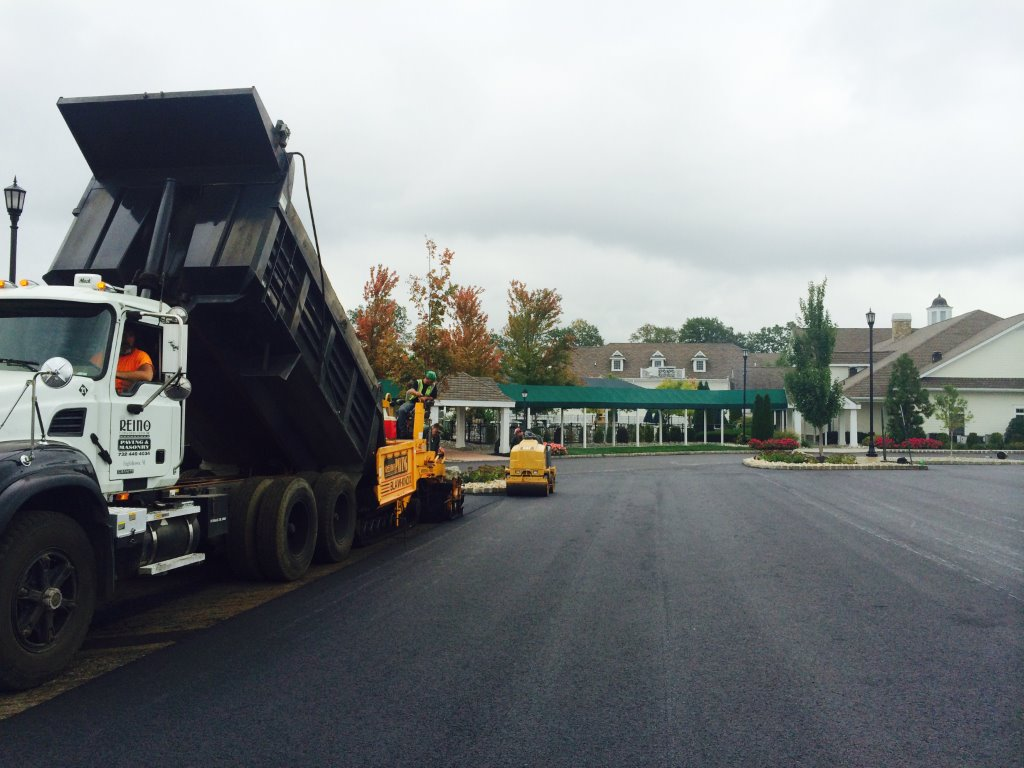 resurfacing pavement